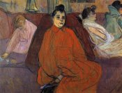 Henri Toulouse-Lautrec - In The Salon The Sofa