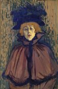 Henri Toulouse-Lautrec - Jane Avril 1