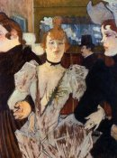 Henri Toulouse-Lautrec - La Goulue Entering The Moulin Rouge