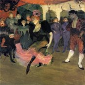 Henri Toulouse-Lautrec - Marcelle Lender Doing The Bolero In Chilperic