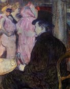 Henri Toulouse-Lautrec - Maxime Dethomas At The Opera Ball
