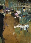 Henri Toulouse-Lautrec - Quadrille At The Moulin Rouge