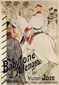 Henri Toulouse-Lautrec - The German Babylon