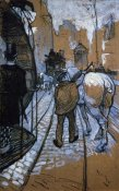 Henri Toulouse-Lautrec - The Trace Horse Of The Omnibus Company