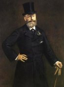 Edouard Manet - Portrait of M. Antonin Proust, 1880