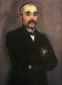 Edouard Manet - Georges Clemenceau