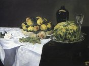 Edouard Manet - Melon and Peaches