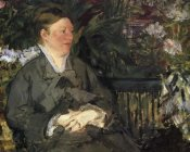 Edouard Manet - Mme Manet in the Conservatory, 1879