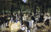 Edouard Manet - Music in the Tuileries Gardens, 1862