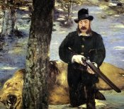 Edouard Manet - Pertuiset the Lion Hunter