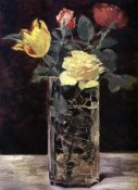 Edouard Manet - Vase of Flowers