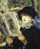 Edouard Manet - Woman Reading