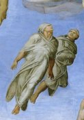 Michelangelo - Detail From The Last Judgement 10