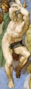 Michelangelo - Detail From The Last Judgement 12