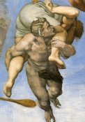 Michelangelo - Detail From The Last Judgement 27