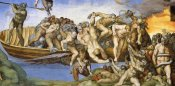 Michelangelo - Detail From The Last Judgement 34
