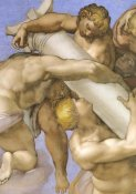 Michelangelo - Detail From The Last Judgement (1)