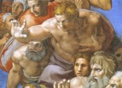 Michelangelo - Detail From The Last Judgement (Christ)