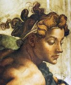 Michelangelo - Head Of A Nude
