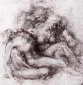 Michelangelo - Lamentation Over The Dead Christ