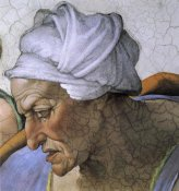 Michelangelo - The Cumean Sibyl (detail)