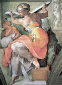 Michelangelo - The Libyan Sibyl
