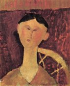 Amedeo Modigliani - Beatrice Hastings X