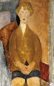 Amedeo Modigliani - Boy In Short Pants