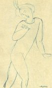 Amedeo Modigliani - Dancer Nijinsky