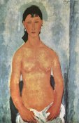 Amedeo Modigliani - Elvire