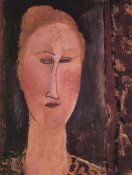 Amedeo Modigliani - Head Of A Woman 2