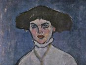 Amedeo Modigliani - Head Of Young Woman