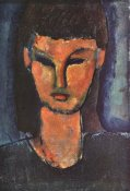 Amedeo Modigliani - Head Of Young Woman 2