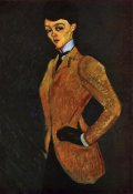 Amedeo Modigliani - Lady Inriding Habit