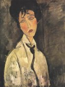 Amedeo Modigliani - Lady With Black Tie