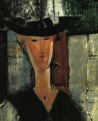 Amedeo Modigliani - Madam Pompadour