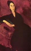 Amedeo Modigliani - Madame Zborowski On A Sofa