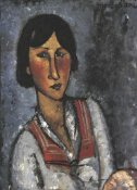 Amedeo Modigliani - Portrait Of A Woman 1