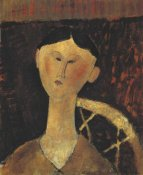 Amedeo Modigliani - Portrait Of Mrs Hastings