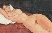 Amedeo Modigliani - Reclining Nude X