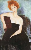 Amedeo Modigliani - Red Headed Woman