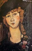 Amedeo Modigliani - Woman In Hat Lolotte