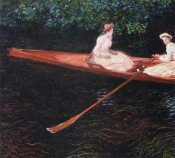 Claude Monet - Boating On The River Epte 1890