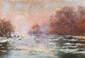 Claude Monet - Breakup Of The Ice Near Vetheuil