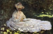 Claude Monet - Camille Reading 1872