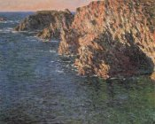 Claude Monet - Cave At Port-Domois 1886