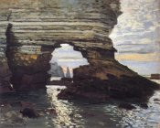 Claude Monet - Cliff At Etretat