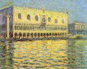 Claude Monet - Doges Palace Seen From San Giorgio