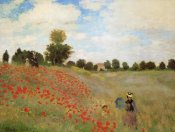Claude Monet - Field Of Poppies (Les Coquelicots) 1873