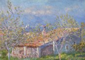 Claude Monet - Gardeners House At Antibes